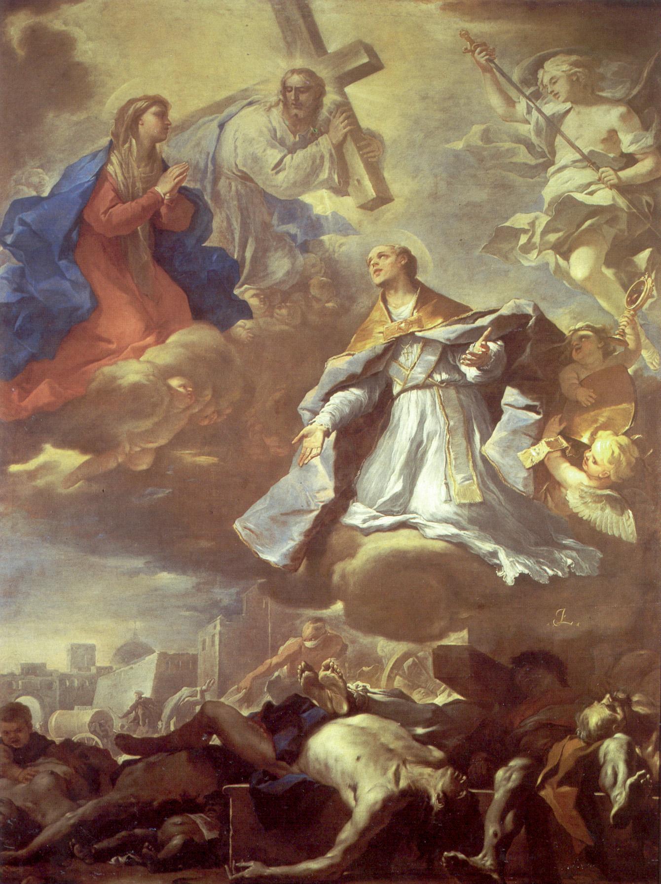 Luca Giordano, Heiliger Januarius von Neapel