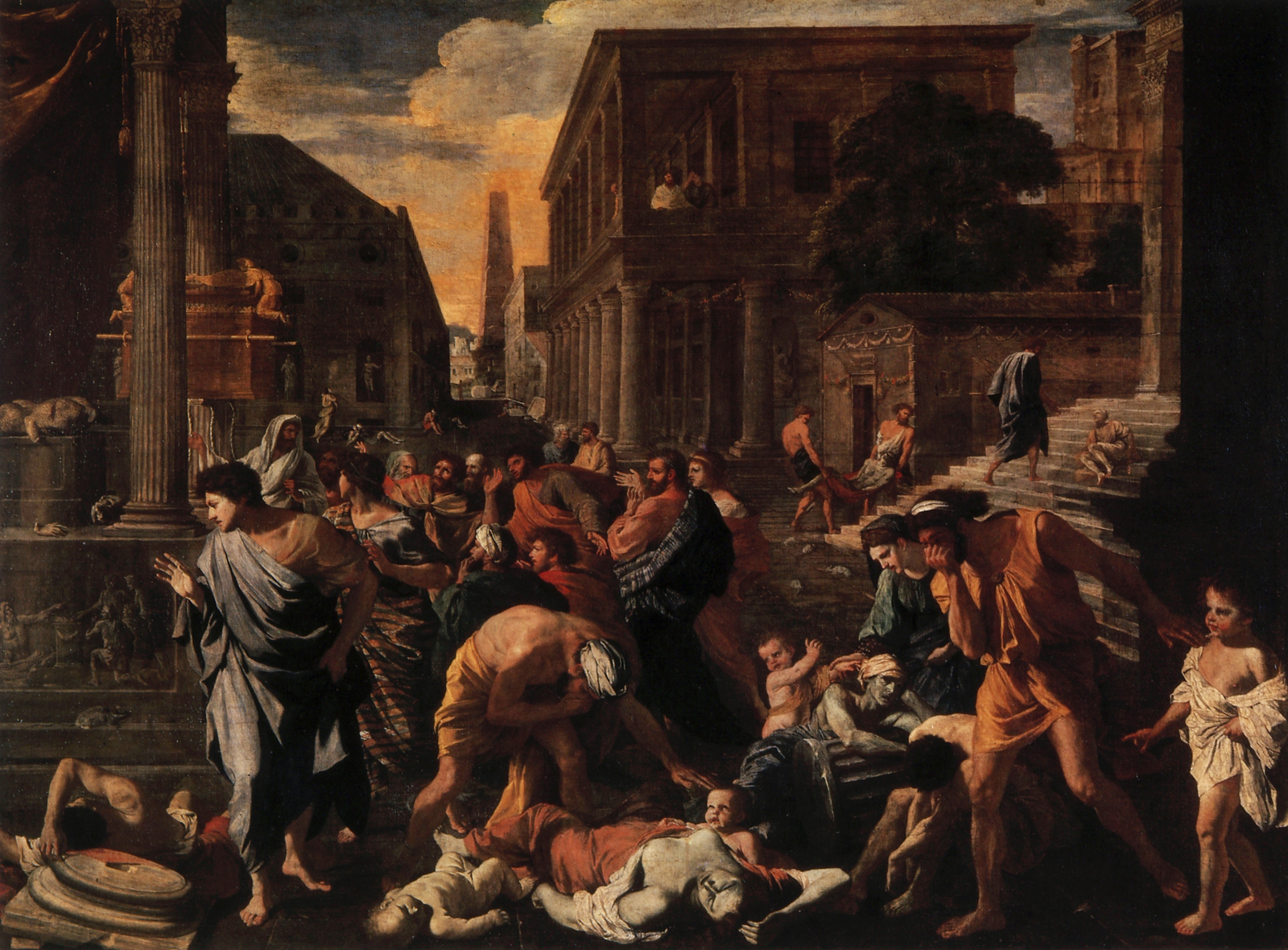 Poussin Plague at Ashdod
